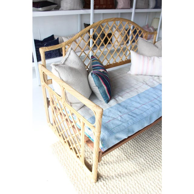 Rattan Daybed Frame For Sale - Image 4 of 11