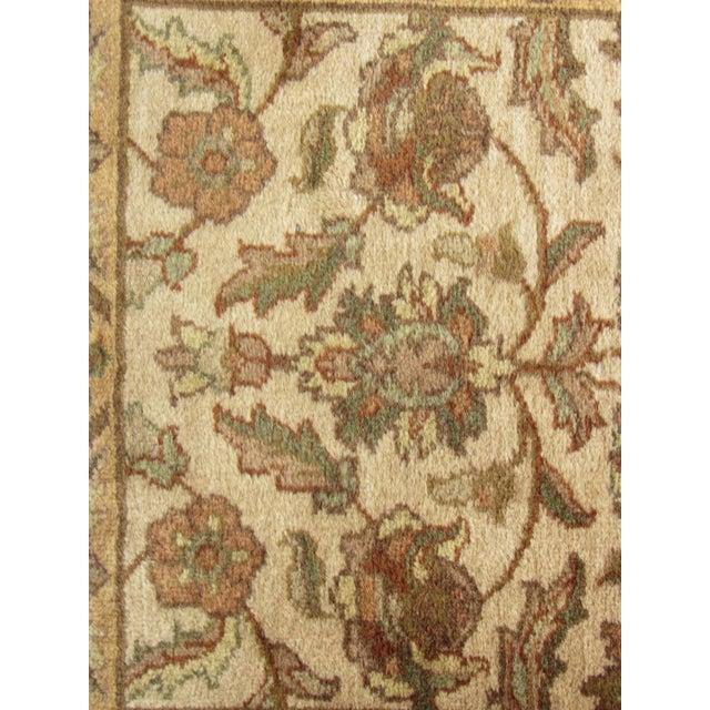 "Oriental Hand Woven Wool Runner - 2'6"" x 7'11"" - Image 7 of 11"