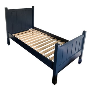 Pottery Barn Camp Twin Bed and Trundle For Sale