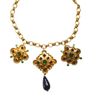 Isabel Canovas Marrakesh Necklace For Sale