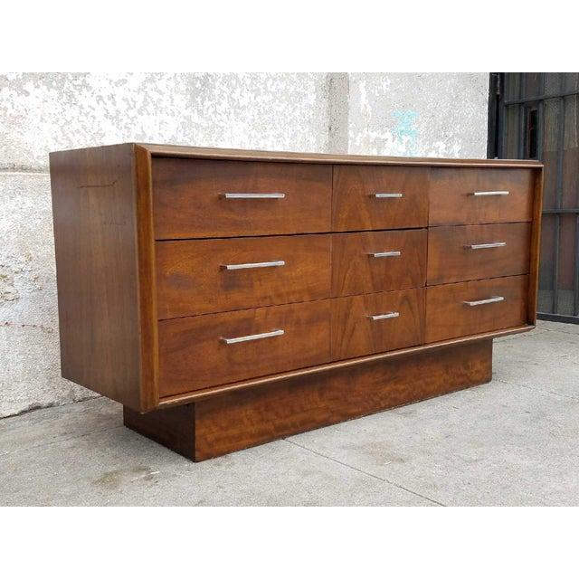 1970s Lane 1970's Vintage Dresser For Sale - Image 5 of 6