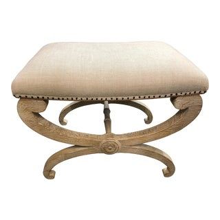 Modern Traditional Tabouret Footstool Ottoman For Sale