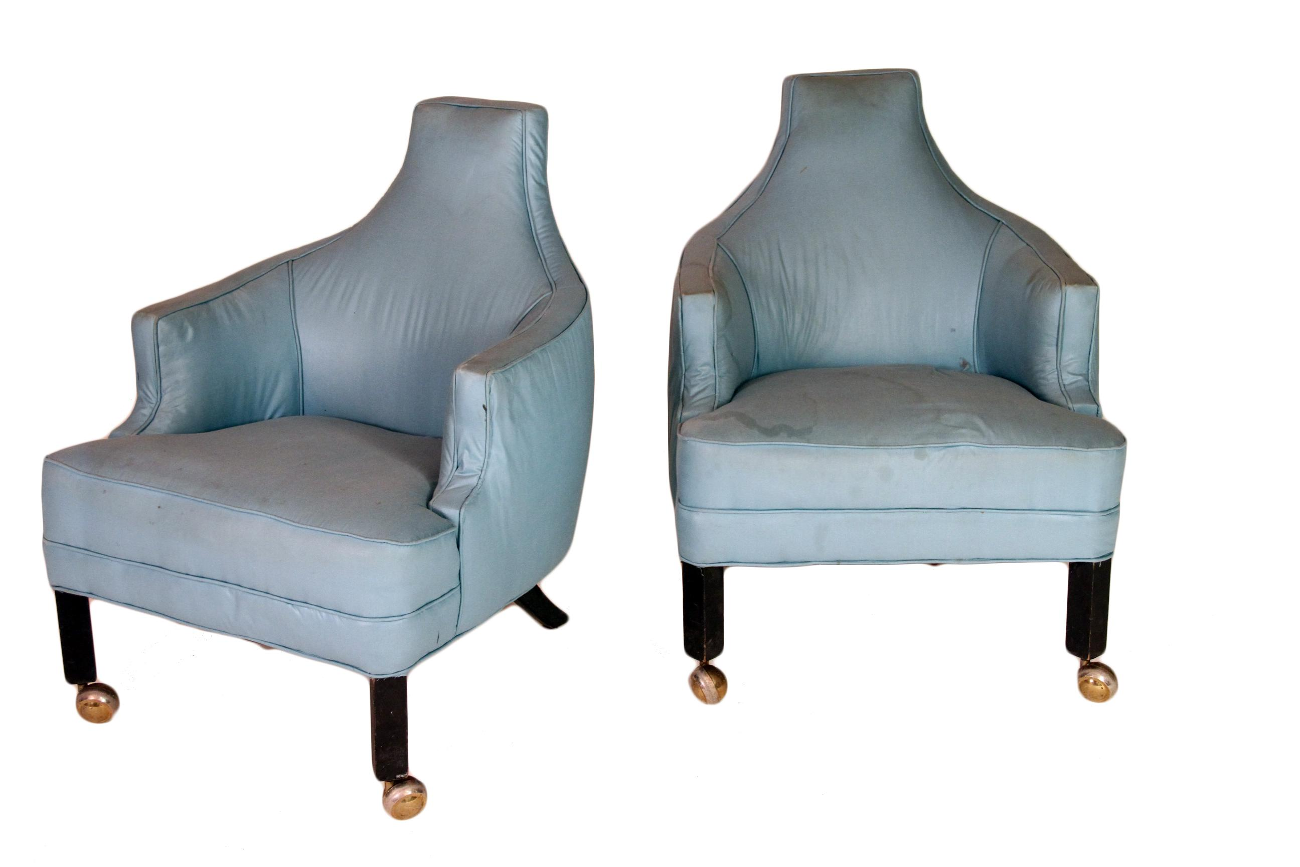 Sultanchic Scours The Globe For Unusual Furniture Finds. On One Of Our  Design Treks We. Contemporary Baby Blue Accent Chairs   A ...
