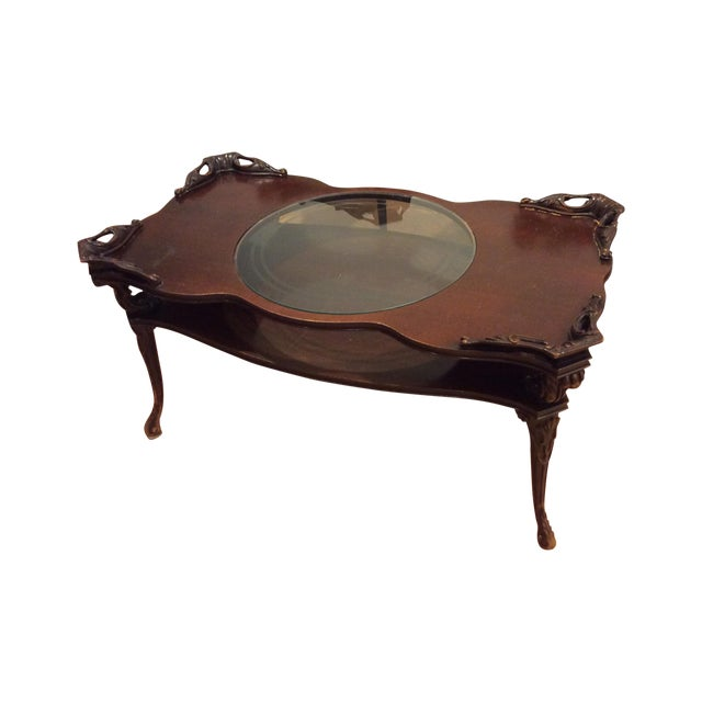 "Chippendale ""Looking Glass"" Coffee Table - Image 1 of 4"