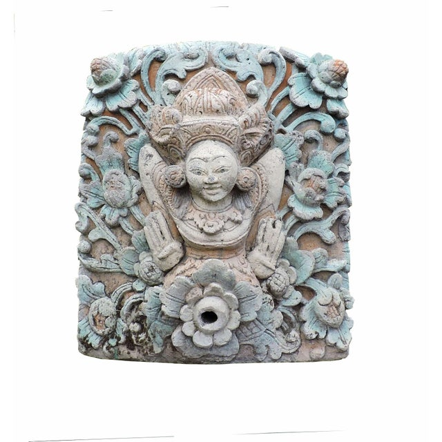 Hand Carved Balinese Water Fountain For Sale In San Francisco - Image 6 of 6