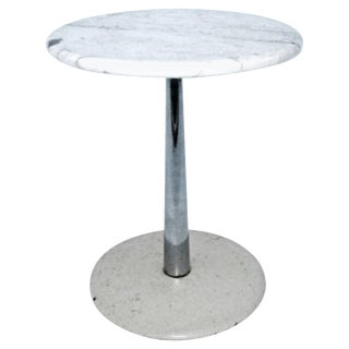 1960s Vintage Laverne Marble-Top Stem Table For Sale