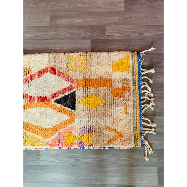 1950s 1950s Moroccan Vintage Runner-2′6″ × 11′ For Sale - Image 5 of 13