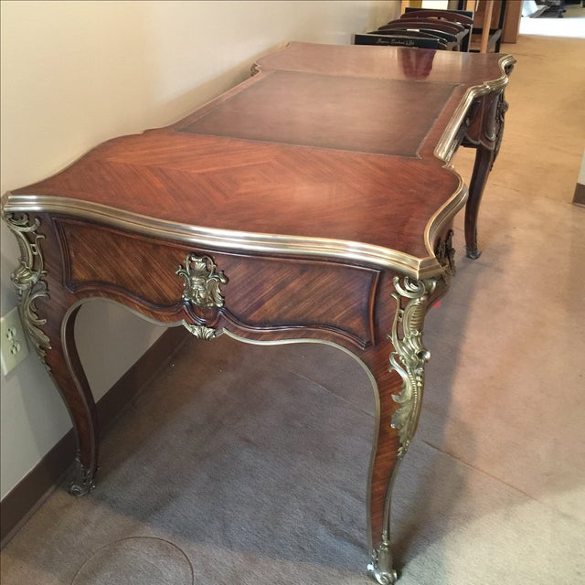 French Theodore Alexander Royal Memoir Desk For Sale - Image 3 of 9
