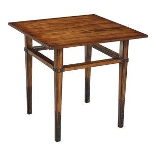 Sarreid Taper Square Side Table For Sale