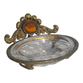 French Ormolu Soap Dish