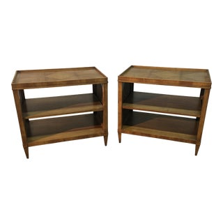 20th Century American Classical John Widdicomb for William Berkey End Tables - a Pair For Sale