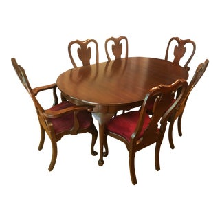 Henkel Harris Dining Set - 7 Pieces For Sale