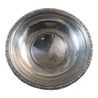 Prelude Pattern International Sterling Silver 9 3/4 Inch Bowl 305 Grams For Sale