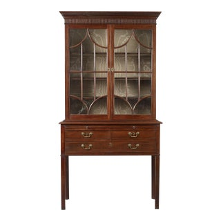 Rare Chippendale Desk and Bookcase