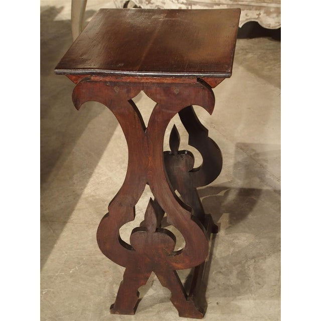 Italian Pair of Antique Italian Nesting Tables, C. 1900 For Sale - Image 3 of 13