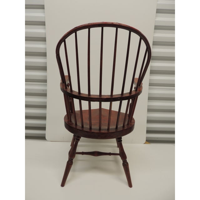 Vintage Child's Windsor Arm Chair For Sale In Miami - Image 6 of 7