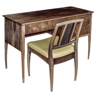 John Stuart Inc. Raymond Sabota Writing Desk & Chair