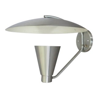 Aluminum Cone With Deflector Wall Sconce For Sale