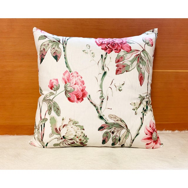 "English Schumacher Daydream Pillow, 20"" For Sale - Image 3 of 5"
