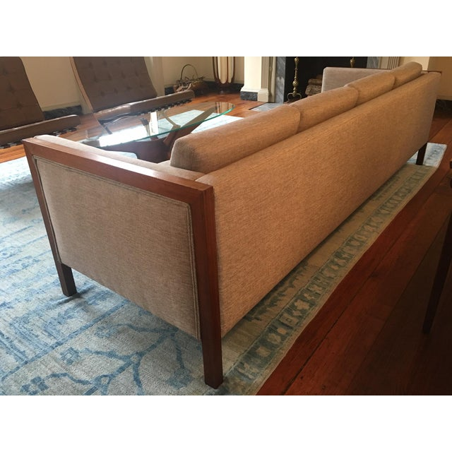Mid-Century Modern Four Seat Long Sofa by Dux For Sale In Baltimore - Image 6 of 13