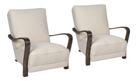 Image of Art Deco Club Chairs
