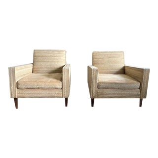 Vintage Mid Century Lounge Chairs - a Pair For Sale