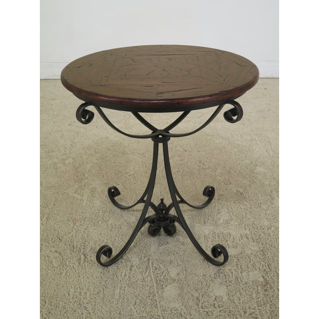 Traditional Theodore Alexander Castle Bromwich Round Occasional Table For Sale - Image 10 of 10