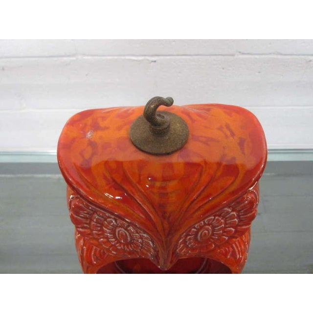 Mid-Century Modern Hanging Owl Ashtray For Sale - Image 3 of 6
