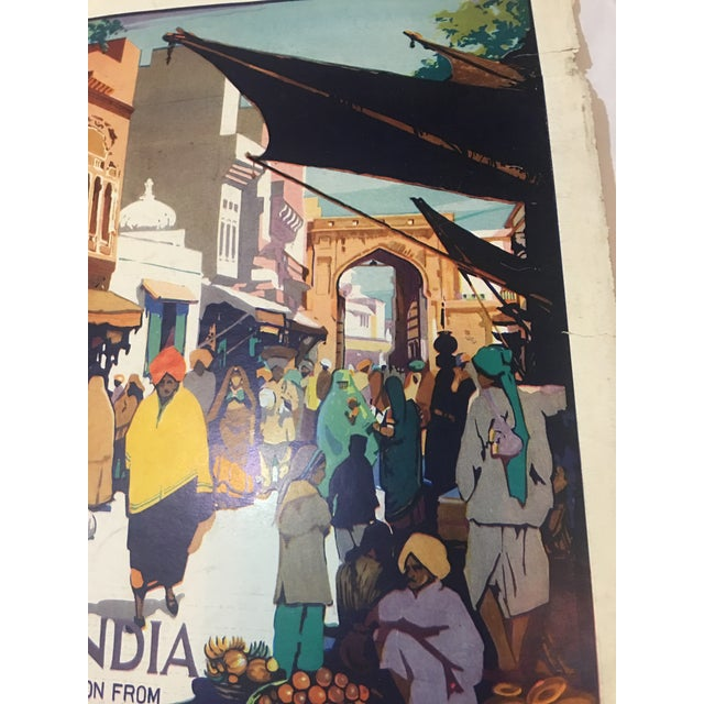 Paper 1935 'See India' Lahore Scene Ad For Sale - Image 7 of 11