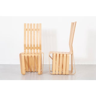 Set of Six Frank Gehry High Sticking Chairs Preview