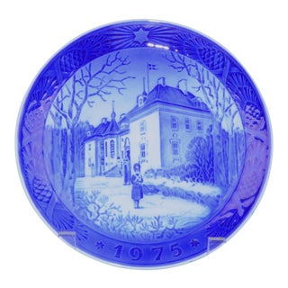 Royal Copenhagen Christmas Plate, 1975