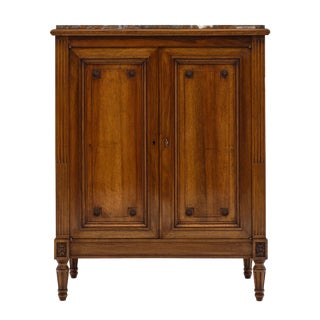 Louis XVI Style 'Argentier' With Marble Top For Sale