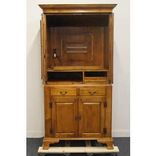 20th Century Traditional Lexington Bob Timberlake Old Salem Collection Chest on Chest Armoire Preview