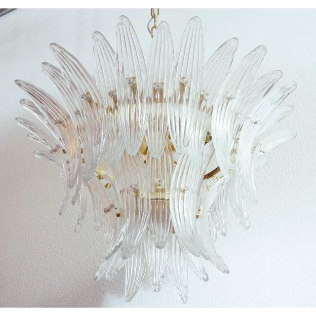Italian Fabio Ltd Tropicana Palmette Chandelier For Sale - Image 3 of 9