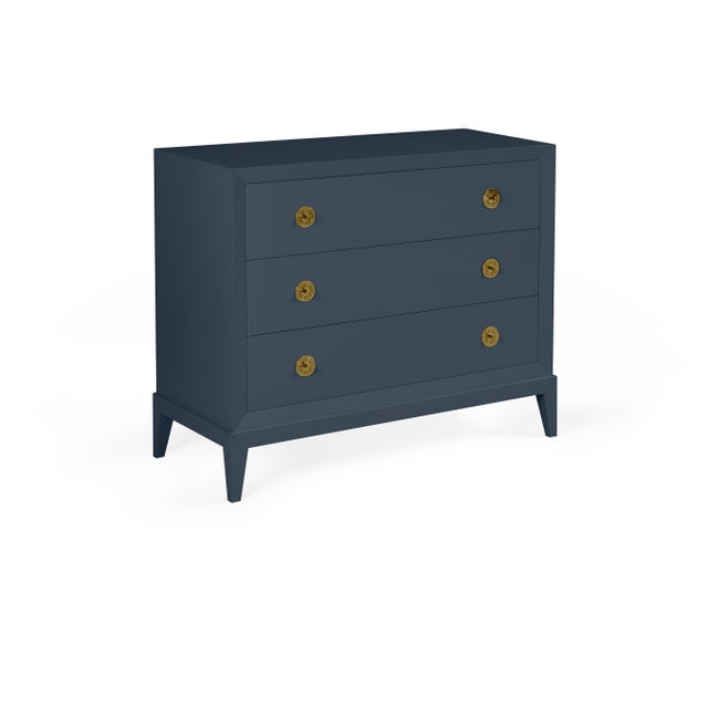 Transitional Casa Cosima Hayes Chest, Hale Navy For Sale - Image 3 of 3