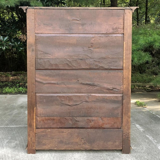 Early 19th Century Country French Armoire For Sale - Image 11 of 13