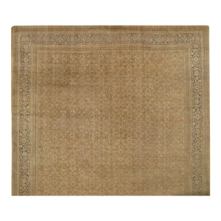 "Pasargad Antique Persian Tabriz Wool Pile Rug - 14'3"" X 21'5"" For Sale"