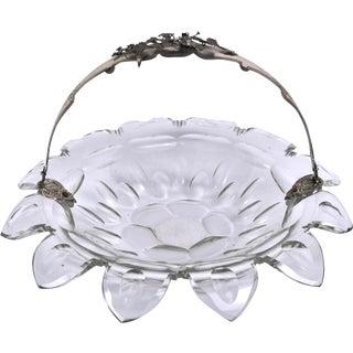 Circa 1845 Dutch Cut Crystal Bowl