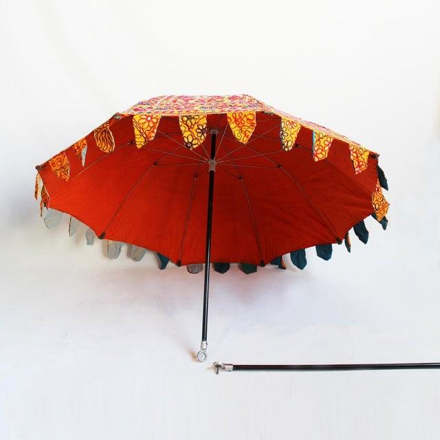 Embroidery & Mirror Work Umbrella - Image 2 of 5