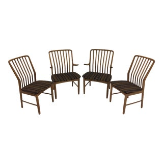 Mid Century Modern Svend Madsen Teak Dining Chairs- Set of 4 For Sale