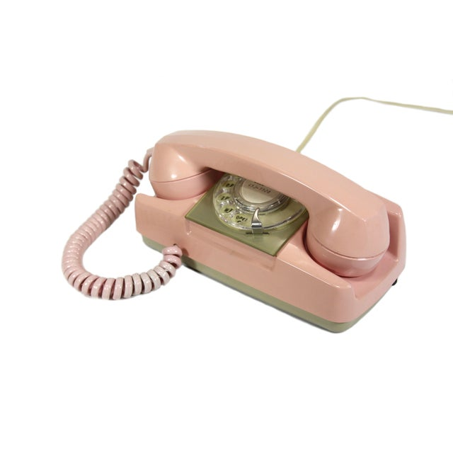 Pink Princess Rotary Telephone - Image 2 of 4