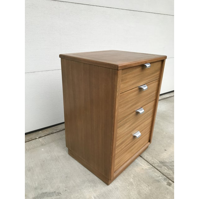 1940s 1940s Mid-Century Modern Edward Wormley for Drexel Bedside Dresser For Sale - Image 5 of 10
