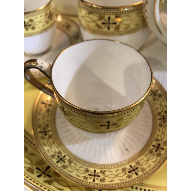 Ceramic Bailey Banks Includes and Biddle Tea Set For Sale - Image 7 of 11