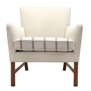 1960's Vintage Ole Wanscher Lounge Chair For Sale