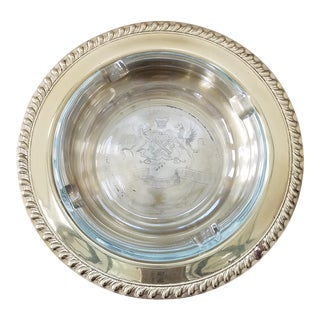 Mid Century Latin Ashtray & Trinket Tray, 2 Piece For Sale