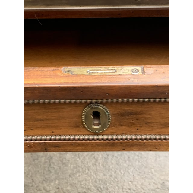 Mid 20th Century Directoire Style Writing Desk With Leather Top For Sale - Image 5 of 11