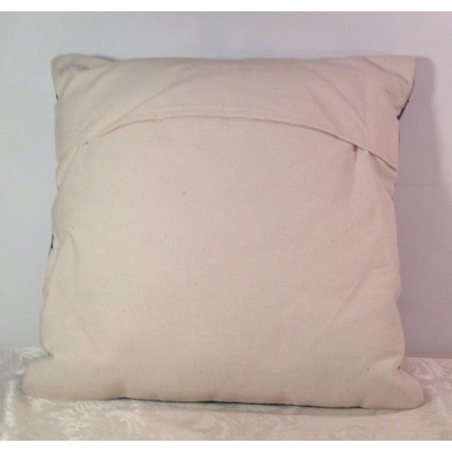 Silk Embroidered Ari Pillows - A Pair - Image 9 of 11