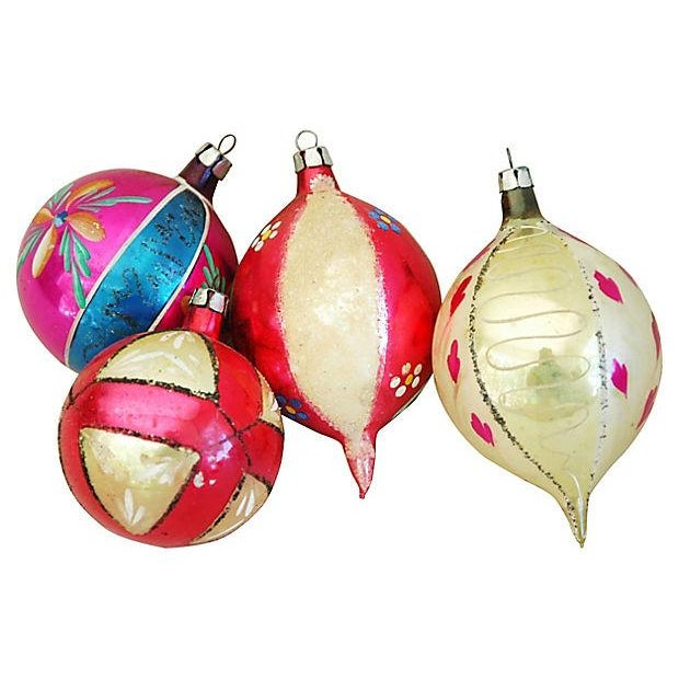 1950s Christmas Ornaments with Box - Set of 12 - Image 7 of 9