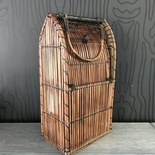 Vintage Bamboo/Rattan Basket Preview