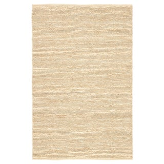 Jaipur Living Havana Natural Solid Beige Area Rug - 8′ × 10′ For Sale